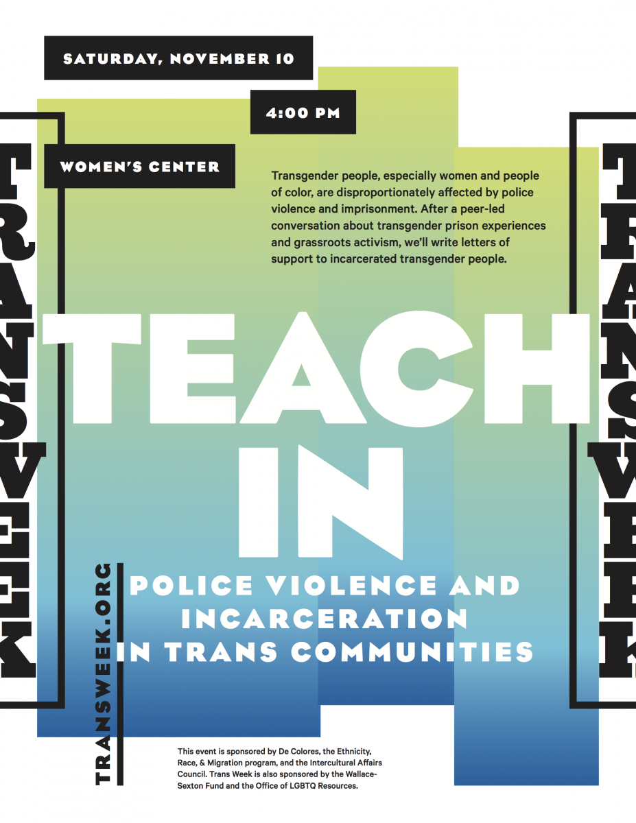 Teach-In: Police Violence and Incarceration in Trans Communities