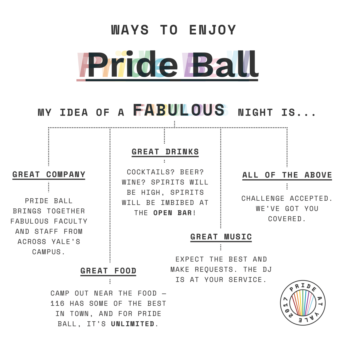 Ways to enjoy Pride Ball