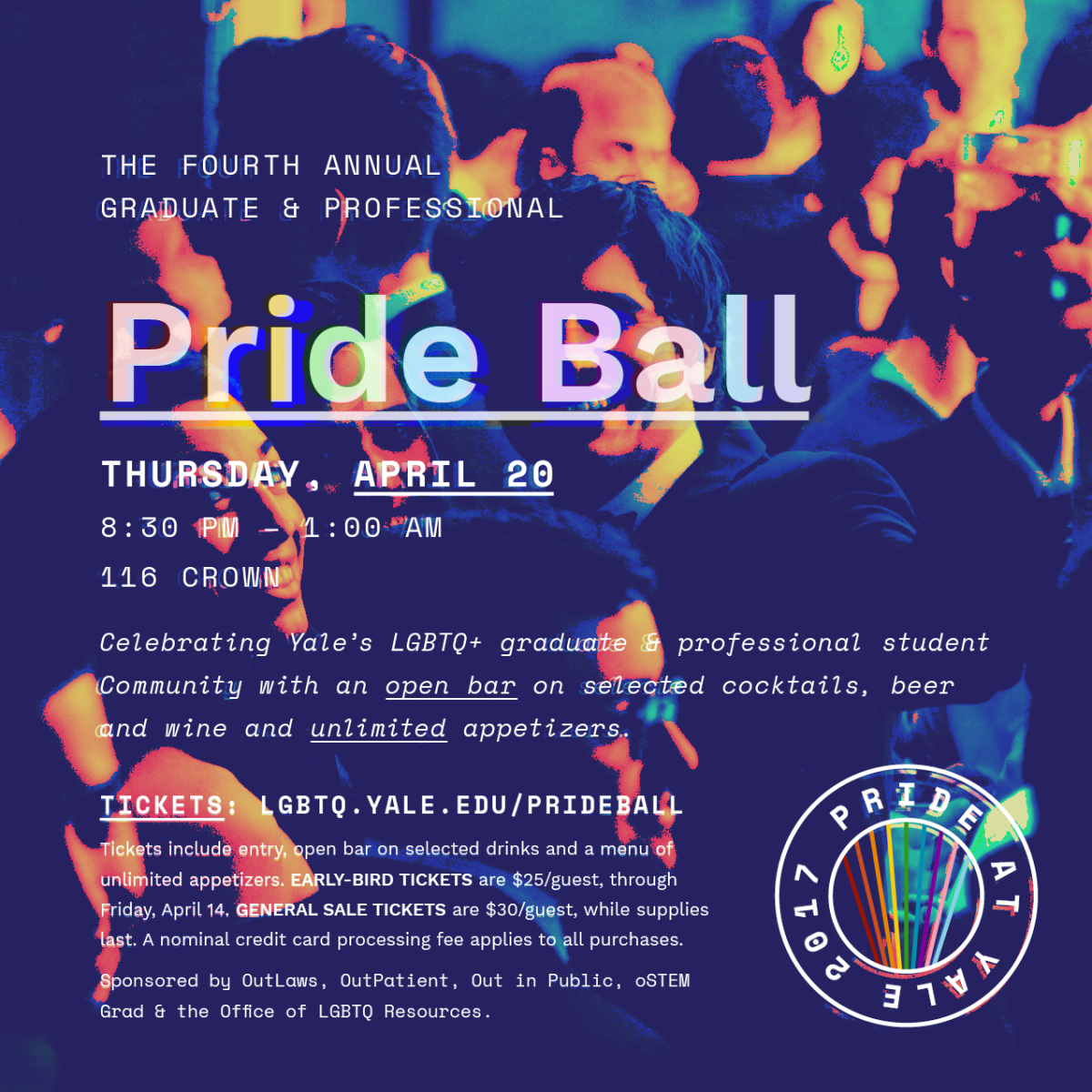 Pride Ball 2017 Flyer