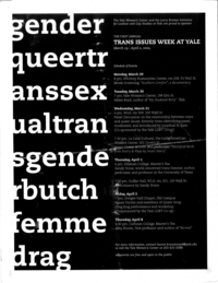 Trans Issues Week 2004