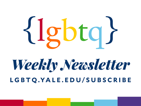 Office of LGBTQ Resources weekly newsletter flyer