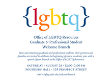 Queer Welcome Brunch flyer