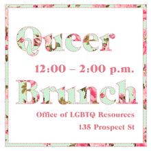 Queer Brunch flyer